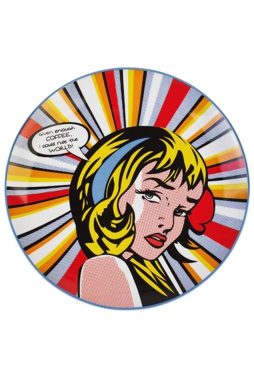 Тарелка Повелительница мираПодарки ко дню рождения<br>Д=20см, керам.<br>