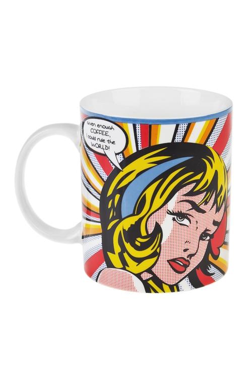 Кружка Повелительница мираПодарки на день рождения<br>350мл, керам.<br>