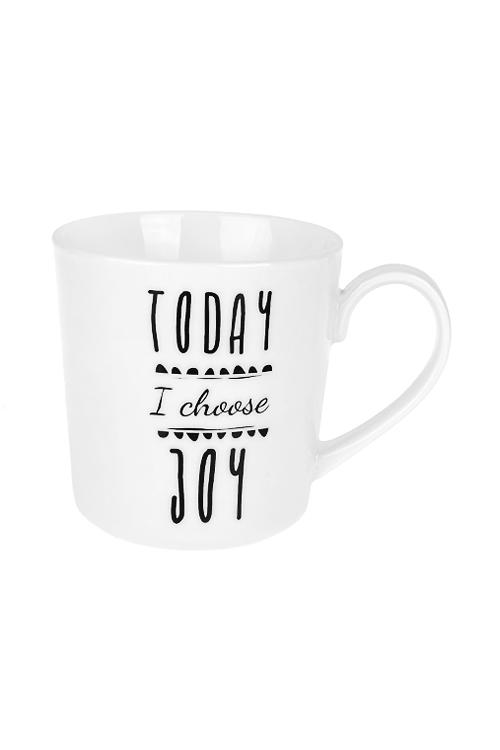 Кружка Лучший деньКружки и бокалы<br>450мл, керам., черно-белая<br>