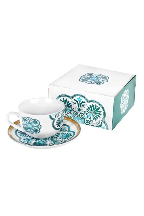 Чайная пара ЭтноПосуда<br>керам. (чашка 220мл)<br>
