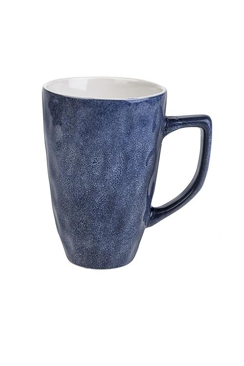 Кружка МраморПосуда<br>440мл, керам., темно-синяя<br>
