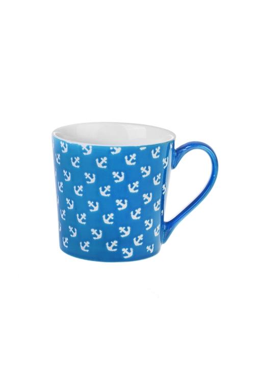 Кружка ЯкоряПодарки на день рождения<br>360мл, керам., синяя<br>