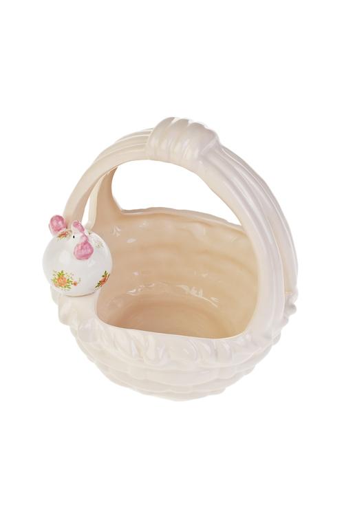 Фото Корзинка для яиц декоративная