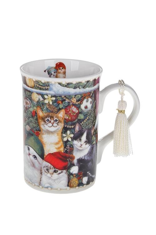 Кружка Котики в колпачкахКружки и бокалы<br>250мл, керам., в подарочной упаковке<br>