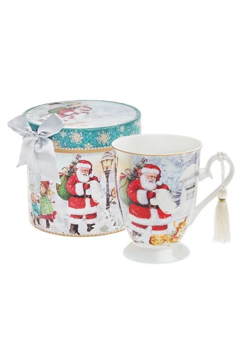 Кружка Дед МорозПосуда<br>300мл, керам., в подарочной упаковке<br>