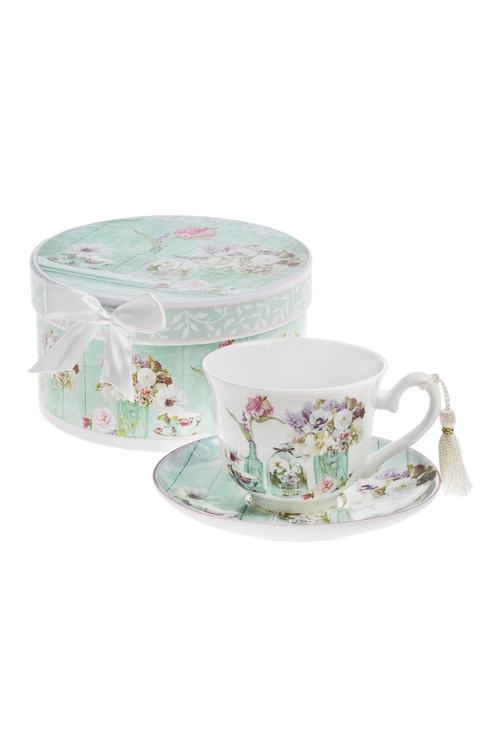 Чайная пара Прекрасный ПровансЧайные пары<br>Керам. (чашка 200мл), в подарочной упаковке<br>