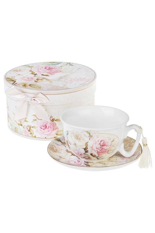 Чайная пара О, ПарижПосуда<br>Керам. (чашка 200мл), в подарочной упаковке<br>
