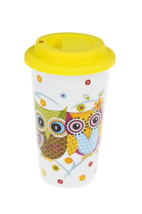 """Стакан для чая/кофе """"Совушки"""" - 1"""