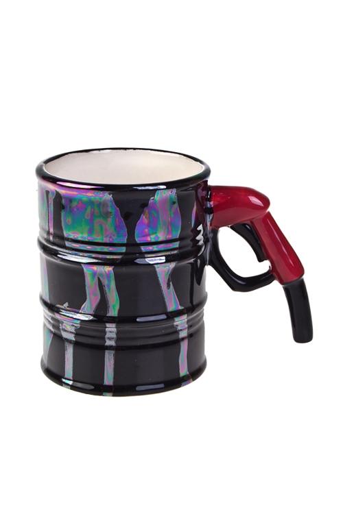 Кружка ТопливоКружки и бокалы<br>350мл, доломит. керам., черная<br>