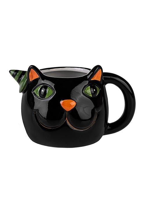Кружка Черный котКружки<br>400мл, керам.<br>