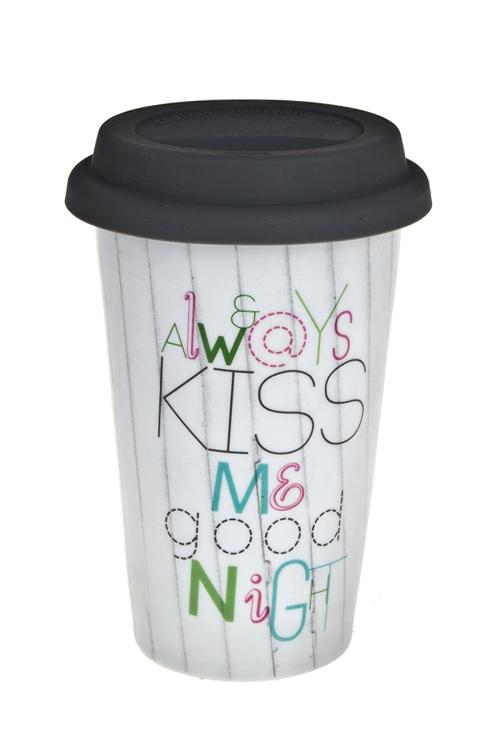 """Стакан для чая/кофе """"Поцелуй"""" - 1"""