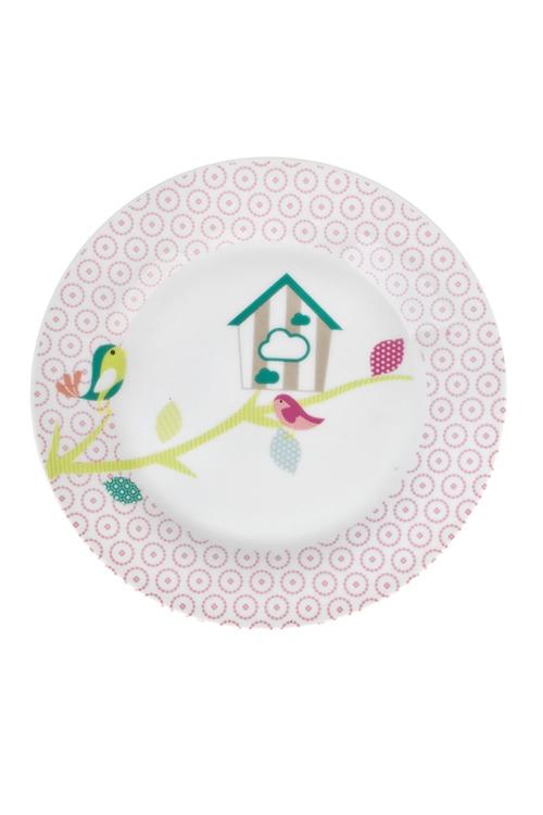 Тарелка Любимый домТарелки и пиалы<br>Д=20см, керам.<br>