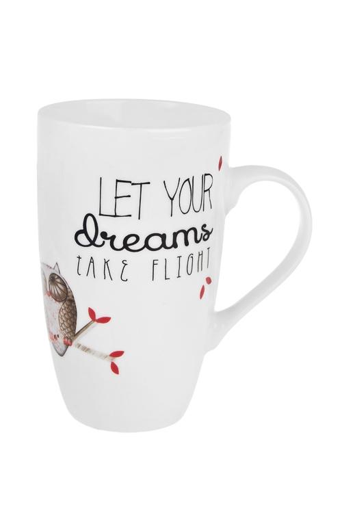 Кружка Мечтающие совушкиКружки<br>360мл, керам.<br>