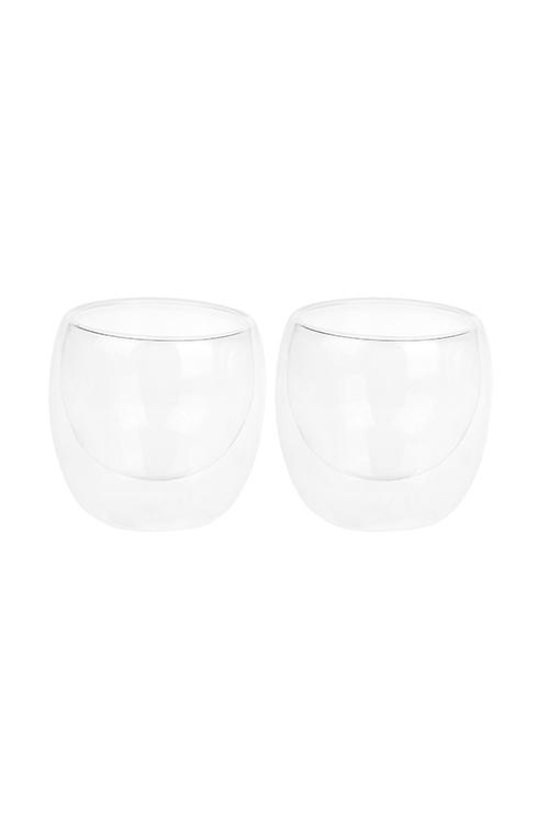Набор стаканов для чая ДаблПосуда<br>200мл, стекло, с двойной стенкой<br>