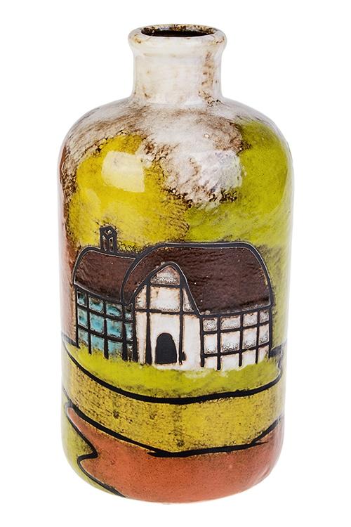 Ваза декоративная Осенняя прогулкаКерамические вазы и кашпо<br>Выс=22.5см, керам.<br>