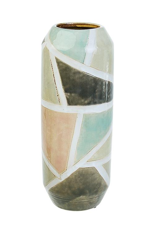 Ваза для цветов МозаикаКерамические вазы и кашпо<br>Выс=31.5см, керам.<br>