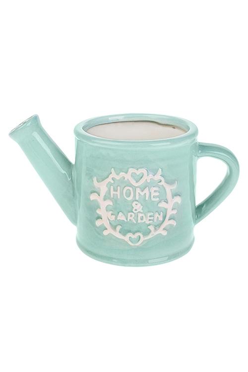 Лейка Милый домКерамические вазы и кашпо<br>23*12.5*12см, керам., голубая<br>