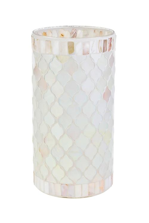 Ваза для цветов Перламутровая чешуяСтеклянные вазы и кашпо<br>Выс=25см, стекло<br>