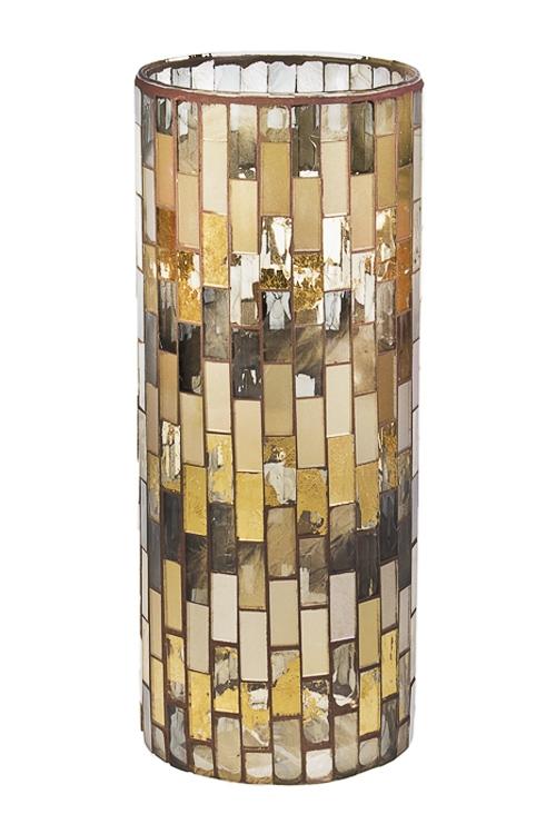 Ваза для цветов Лунный водопадСтеклянные вазы и кашпо<br>Выс=30см, стекло<br>