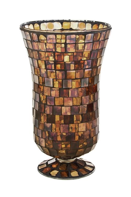 Ваза для цветов Кофейный взрывСтеклянные вазы и кашпо<br>Выс=27см, стекло<br>