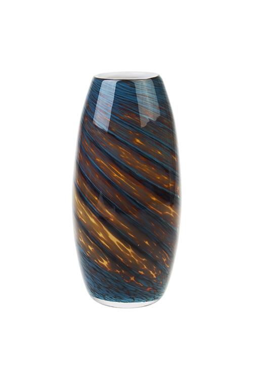 Ваза для цветов ЛагунаСтеклянные вазы и кашпо<br>Выс=26см, стекло<br>
