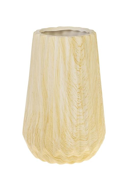 Ваза для цветов Эко СтильКерамические вазы и кашпо<br>Выс=21см, керам., беж.<br>