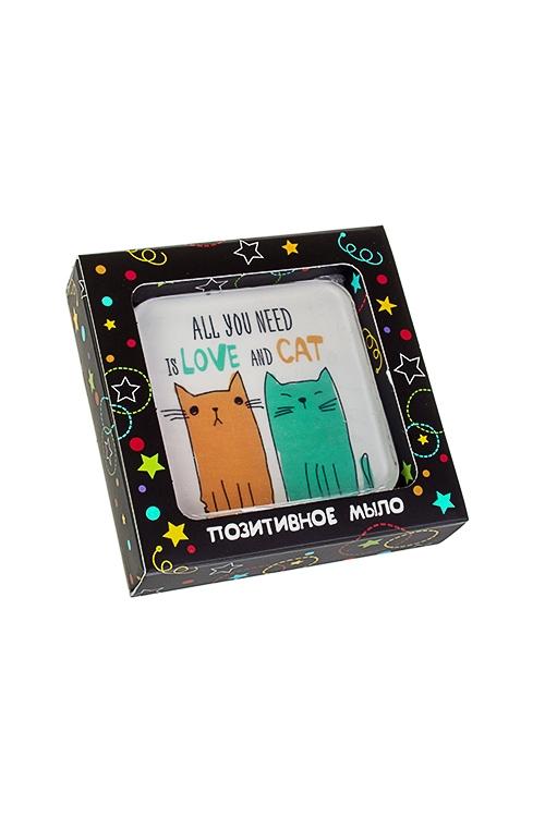 Мыло Любовь и котШкатулки и наборы по уходу<br>Аромат тутти-фрутти, в коробке<br>