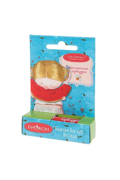 Бальзам для губ детский Gapchinska - Солнечный арбузНаборы для ванной<br>Бальзам для губ детский Gapchinska<br>