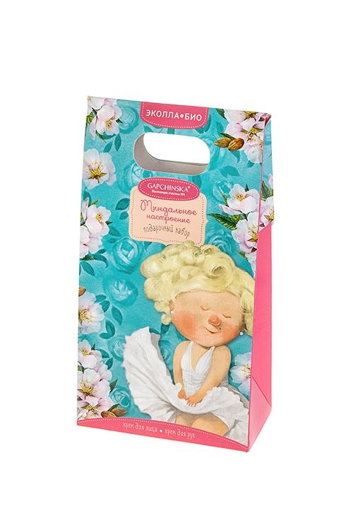 Набор подарочный Gapchinska - Миндальное настроениеШкатулки и наборы по уходу<br>Крем для лица, крем для рук<br>