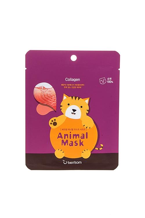 "Маска тканевая с морским коллагеном ""Animal mask series - Cat"""