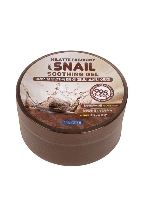 """Купить со скидкой Гель универсальный увлажняющий """"Milatte Fashiony Snail Soothing Gel 300мл"""""""