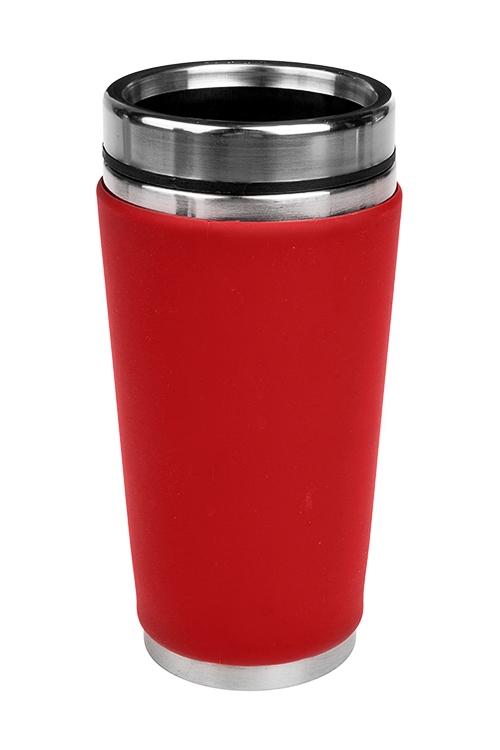 Термокружка с крышкой Ориджин (Красная)