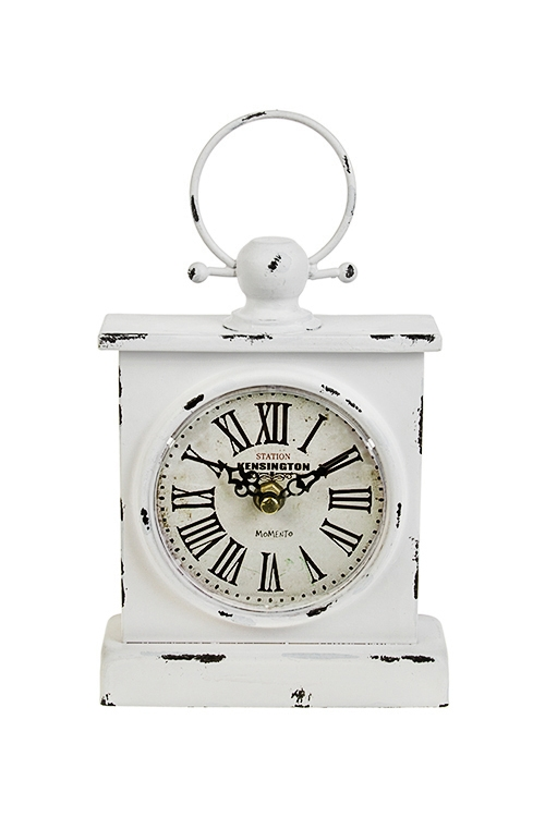 Часы настольные КенсингтонИнтерьер<br>25*5*15см, металл<br>