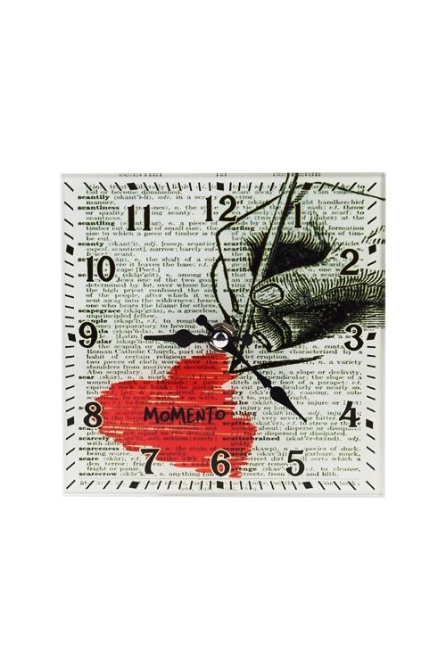 Часы настенные Любовный набросокЧасы Настенные<br>15*15см, стекло<br>
