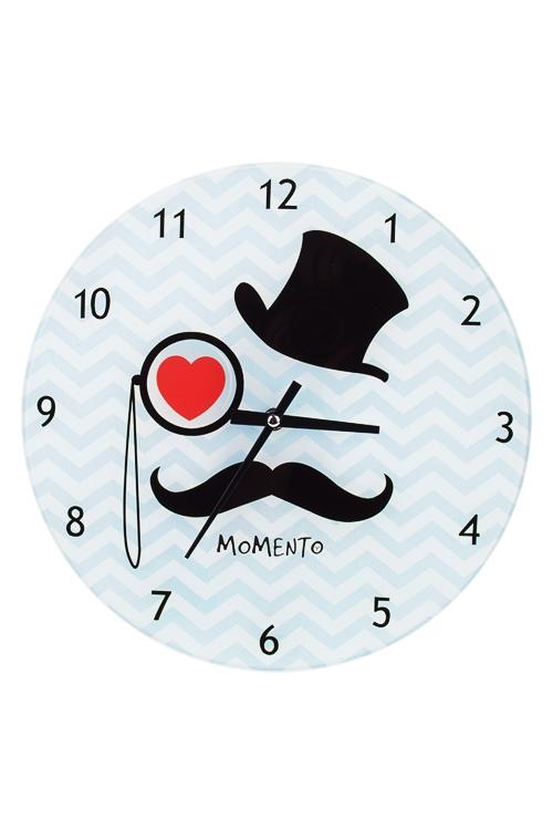 Часы настенные МистерИнтерьер<br>Д=30см, стекло<br>