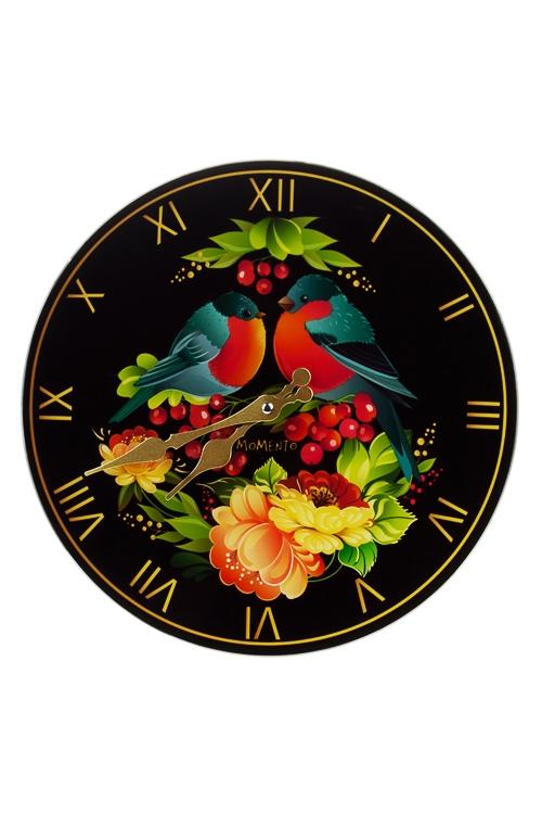 Часы настенные СнегирьИнтерьер<br>Д=30см, стекло<br>