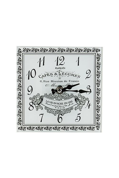 Часы настенные/настольные ГрафикаЧасы Настенные<br>15*15см, стекло<br>