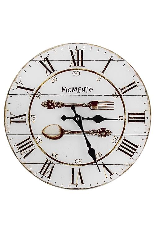 Часы настенные БистроИнтерьер<br>Д=30см, стекло<br>