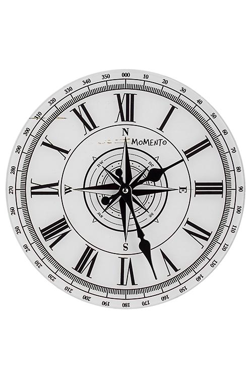 Часы настенные Компас счастьяПодарки начальнику/шефу<br>Д=30см, стекло<br>