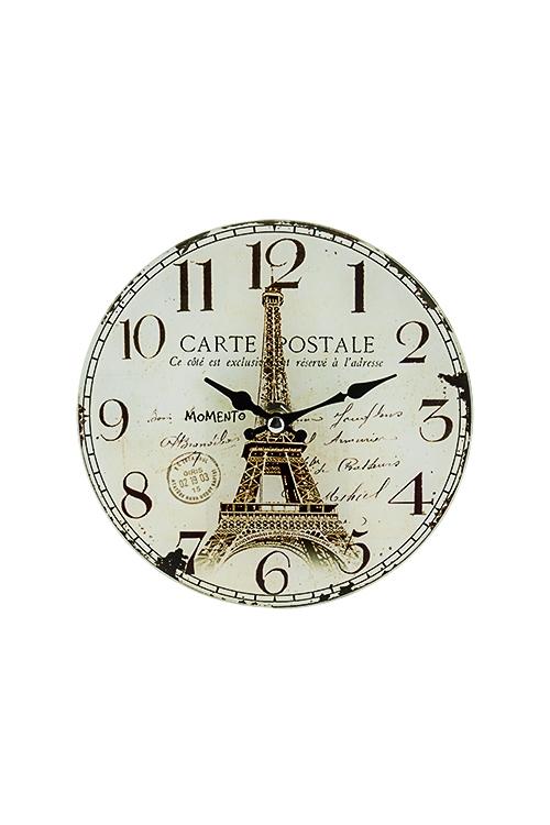Часы настенные/настольные РетроЧасы Настенные<br>Д=17см, стекло<br>
