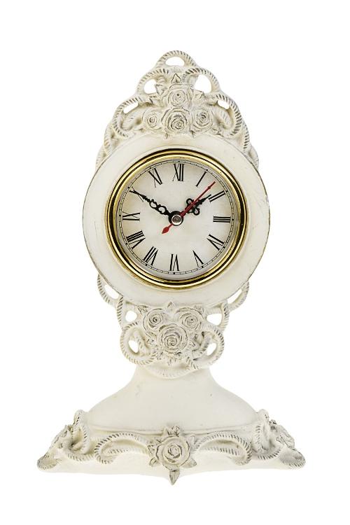Часы настольные КружеваЧасы Настольные<br>25*8*16см, полирезин, пластм.<br>