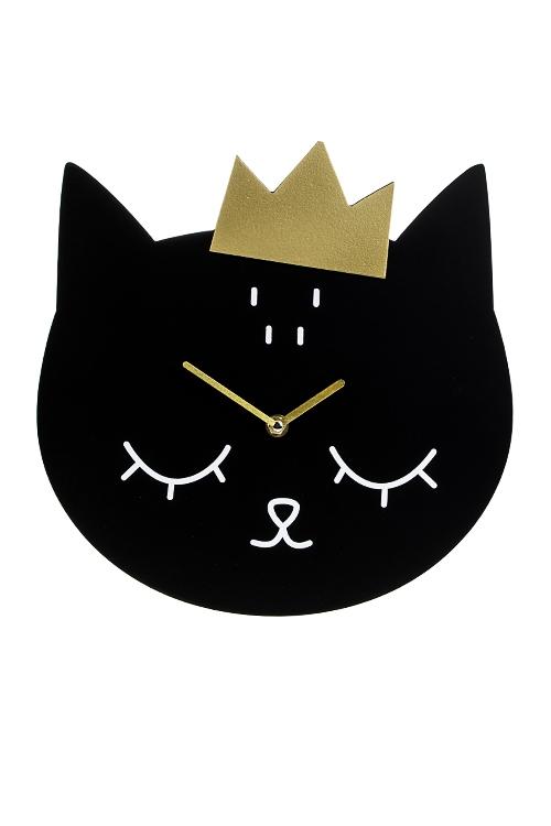 Часы настенные КотикИнтерьер<br>30*30см, МДФ<br>