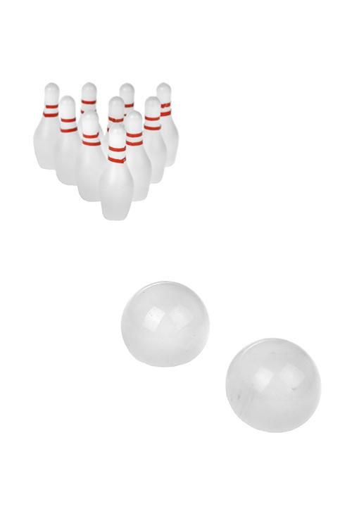 Игра настольная развлек. для взрослых Фингер-боулингРазвлечения и вечеринки<br>пластм.<br>