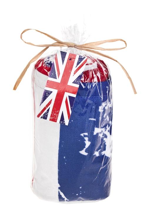 """Полотенце пляжное """"Британский флаг"""" от Красный куб"""