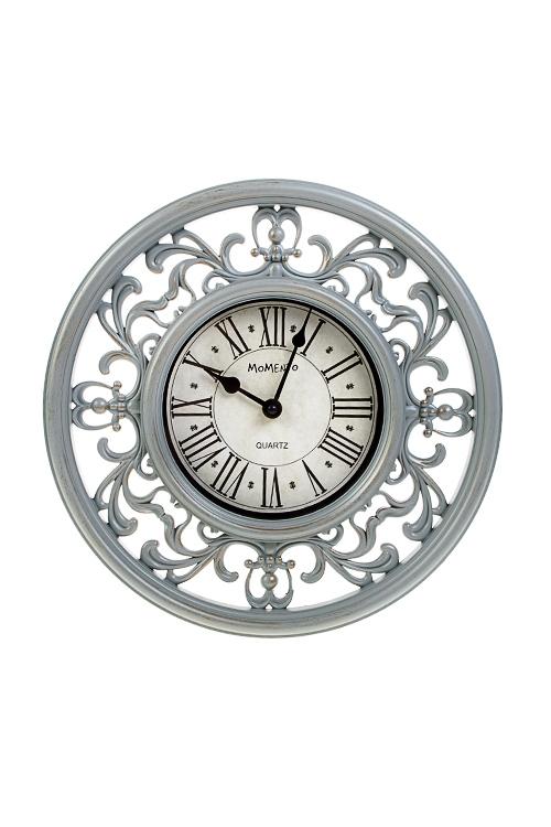 Часы настенные АжурИнтерьер<br>Д=30см, пластм., стекло<br>
