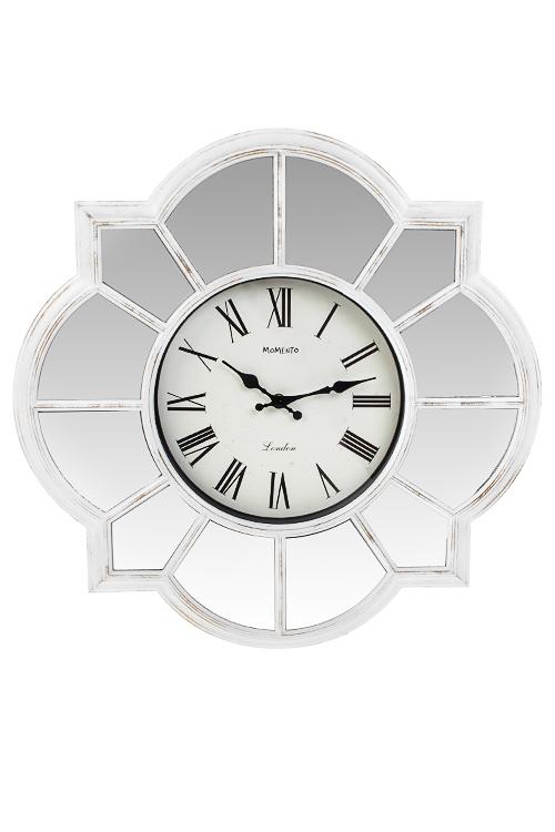 Часы настенные Зеркальная поэмаИнтерьер<br>Д=51см, пластм., стекло<br>