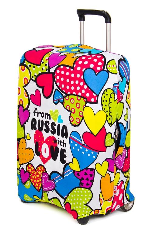 867bff38aae4 фотография товара Увеличить · Чехол для чемодана Из России с любовью ...
