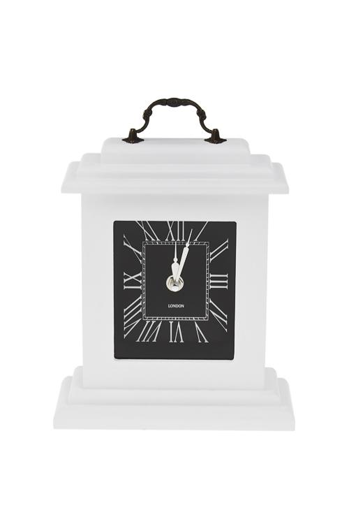 Часы настольные Отсчет вечностиИнтерьер<br>19*7.5*23см, МДФ, стекло<br>