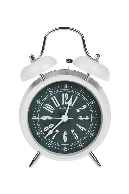 Часы настольные РетроЧасы Будильник<br>11.6*17.1*5.8см, металл, с будильником<br>