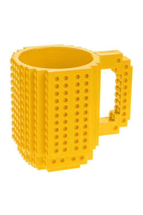 Кружка КонструкторКружки<br>350мл, пластм., желтая<br>